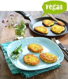 veggieola: Placki z kalafiora i ryżu, bez glutenu