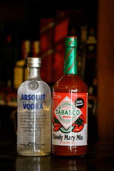 Bloody Mary Kit Absolut Vodka Tabasco Mix #FiorDi