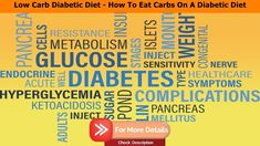 Low Carb Diabetic Diet - How To Eat Carbs On A Diabetic Diet