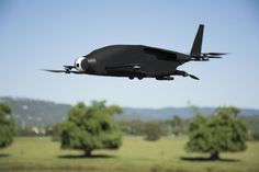 SkyProwler combines a quadcopter and a fixed-wing airplane in one device