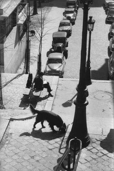 -Montmartre,1958s,Photo Henri Cartier-Bresson