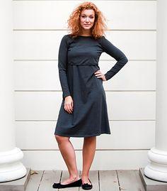Sukienka do karmienia ZIABAQLU Sport model: HEATHER GRAY