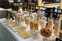 Candy bar for your guests to enjoy. A great alternative to a wedding favour or bonbonniere.