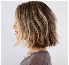 dirty blonde, short hair, bob, beachy waves