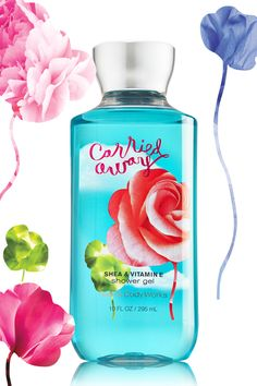 Carried Away - Get Carried Away®! Inspired by the way true love sweeps you off your feet, it's a head-over-heels blend of raspberries, jasmine & whipped vanilla. By Bath and Body Works
