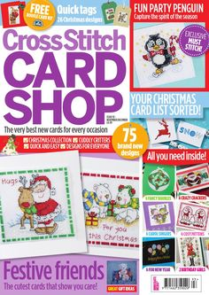 ISSUU - Cross Stitch Card Shop Current Issue Sampler by Immediate Media Co magazines
