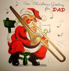 Trombone Santa.