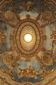 al-ancien-regime: Teatro Municipale, Piacenza, Italië Baroque Architecture, Beautiful Architecture, Architecture Details, Renaissance Art, Ceiling Design, Roof Design, Wall Design, Belle Photo, Old World