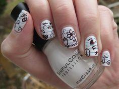 Doodled nails