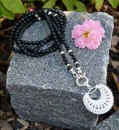 Halskette Onyx Crochet Earrings, Jewelry, Fashion, Handmade, Silver, Moda, Jewlery, Bijoux, Fashion Styles