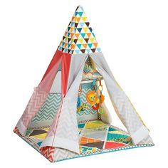 Infantino Go GaGa Infant Teepee Activity Gym : Target
