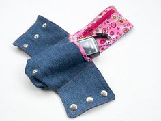 Cuff Wallet with Zipper Change and Big Money Pocket sewing
