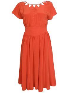 Colima Triangle Cut-out Dress