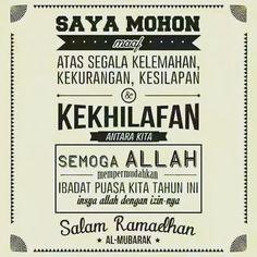 Gambar Ucapan Maaf Menyambut Bulan Ramadhan