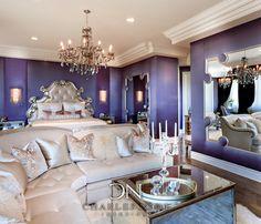 Glamorous Celebrity Bedroom