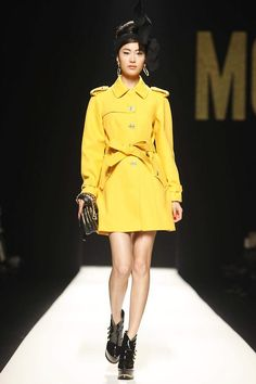 Moschino Fall/Winter 2012 collection.