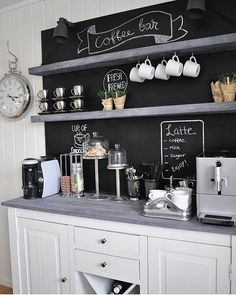 Love this coffecorner! Yes please...... Credit @home_by_virginia #my_inspirationsguide #coffee #details #tasty #bw #interiør #interior #interiørdesign #interiordesign #home #hjem #style #details #inspirasjon #inspiration #cosy #cozy #housedoctor #homedecor #beautiful #pinterestinspo by my_inspirationsguide