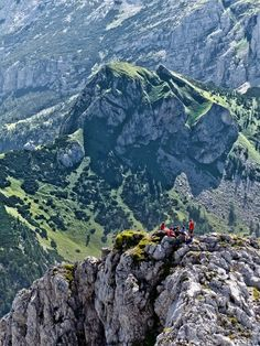 Hike up the peak in the Gesäuse National Park, which is a national park in Styria, Austria #feelaustria