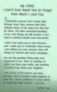 Love Quotes For Your Daughter Stunning A Beautiful Letter To Your Daughters  Someone Once Said