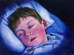 Tom asleep, 2009