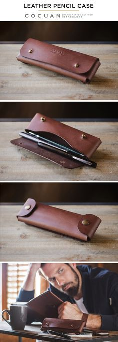 LEATHER PENCIL CASE www.cocuan.com