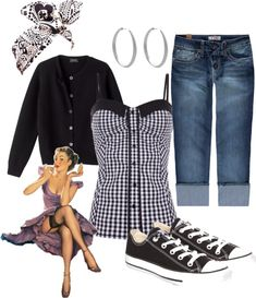 I love it all especially the converse