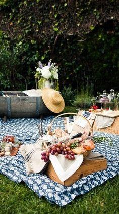picnic scene @lundbergfarms #PicnicWithaView