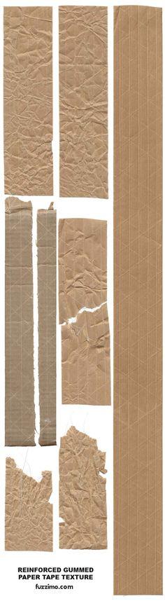 Hi-Res Reinforced Paper Tape Textures Photoshop, Lightroom, Web Design, Tool Design, Paper Background, Textured Background, Photocollage, Paper Tape, Grafik Design