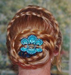 Braids & Hairstyles for Super Long Hair: Swirl Braids