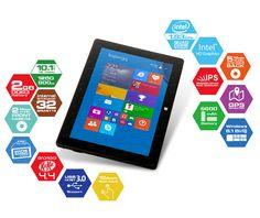 Dark EVO I1045K, şimdi dünyanın en çok tercih edilen işletim sistemlerinin gücünü birleştirdi. Windows 8.1(Bing) ve Android 4.4 Kit Kat yüklü gelen Intel Z3735F işlemcili EVO I1045K, katlandığında kılıfa dönüşen touchpad'li klavyesi ile birlikte kullanıldığında gerçek bir notebook, ekranını klavyeden ayırdığınızda tam bir tablet deneyimine aynı anda ulaşmanızı sağlar.
