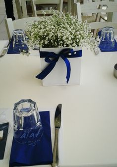 Greek island theme party by Party decor creations