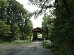Dating back to the late 19th century, the Colvin Covered Bridge is one of Bedford County's 14 surviving covered bridges. At one time there used to be 70 covered bridges throughout the county. (Photo by Jennifer Sopko)