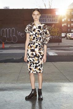 Givenchy Pre-Fall 2013 Fashion Show - Tilda Lindstam