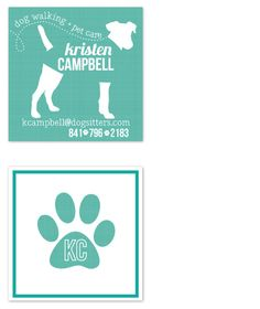 8 best other business card ideas images on pinterest card ideas this square contact card features a canvas texture print and a modern unique design perfect for dog walkers petsitters and veterinary health reheart Gallery