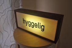 """** CUSTOM ORDER - Danish """"hyggelig"""" for a birthday girl"""