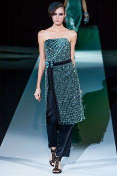 Giorgio Armani - Milan #FashionWeek Primavera/Verano 2013