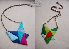 #crystal #necklaces by #dushky