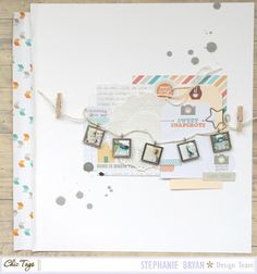 Sweet Snapshots - Chic Tags: Happy Place - by Stephanie Bryan. Love the photo charms!