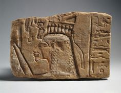 ~Relief of Queen Nefertiti. Period: New Kingdom, Amarna Period Dynasty: Dynasty 18 Reign: reign of Akhenaten Date: ca. 1353–1336 BC Geography: From Egypt; Probably from Upper Egypt, Thebes, Karnak Medium: Sandstone