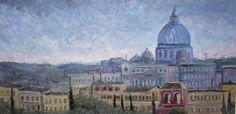 St Peters on the Horizon - Ryan J Flynn Masonic Artist