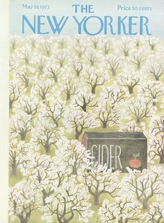 The New Yorker - Saturday, May 19, 1973 - Issue # 2518 - Vol. 49 - N° 13 - Cover by : Ilonka Karasz