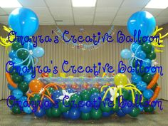 under the sea decorations | Under the Sea Birthday - *Candy Buffet & Balloon Decor*