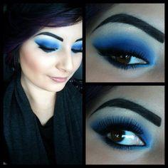 Makeup from yesterday #urban decay #mac #inglot #makeup  (Taken with instagram)