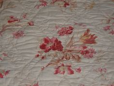 Detail, antique French quilt