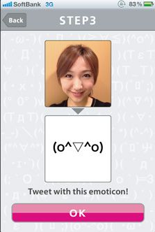 Cool new app. Turns a pic into an emotocon.