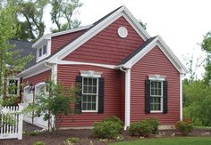 Norandex Great Barrier Vinyl Siding And Home Accents Shakes In Firebrick Www
