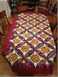celtic solstice from quiltville - one of their mystery projects. Pattern out in 2015