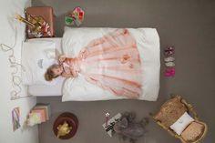 Slapen als een prinsesje wordt werkelijkheid met dit kinderdekbedovertrek van snurk beddengoed