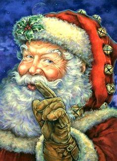 Better be Good Santa Claus Christmas Décor Framed Art Print Wall Décor Picture