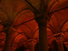 Detalle Basilica Cisterna, Estambul